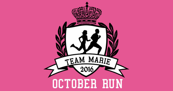Team Marie October Run