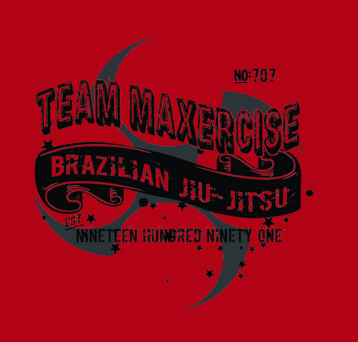 Team Maxercise Pan Am Fundraiser shirt design - zoomed