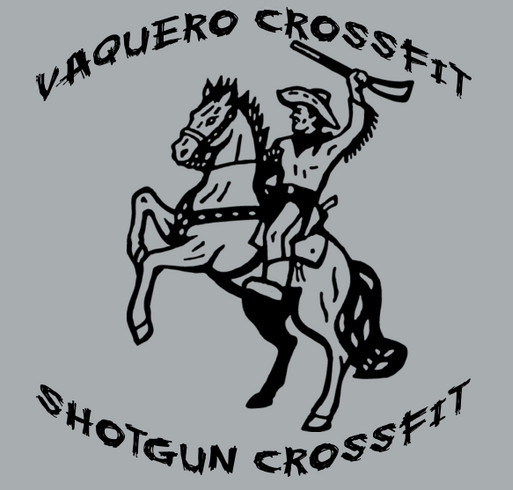 Barrett Blick Benefit CrossFit Competition shirt design - zoomed