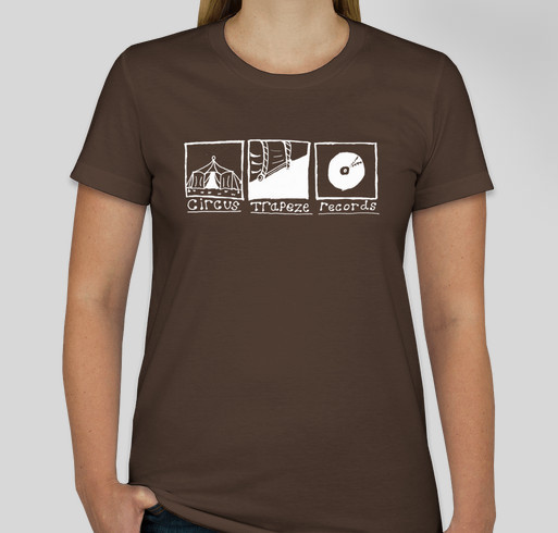Circus Trapeze Records Fundraiser - unisex shirt design - front