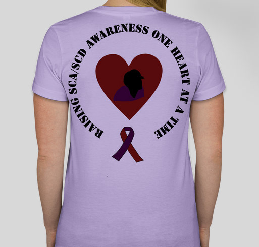 Do It For Harrison In Lavender Fundraiser - unisex shirt design - back