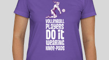 Volleyball players wear it