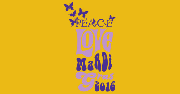 Peace, Love & Mardi Gras