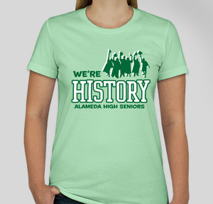 We're history
