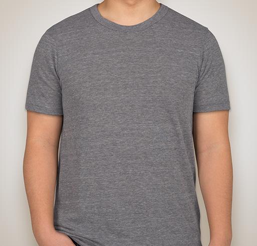 Alternative Apparel Eco Tri-Blend T-shirt - Eco Grey / Eco True Black