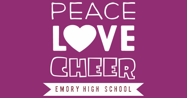 Peace Love Cheer