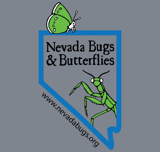 Nevada Bugs & Butterflies 2014 Fundraiser (Grown-Up Shirts) shirt design - zoomed
