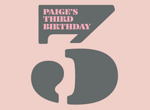 Paige's 3rd Birthday