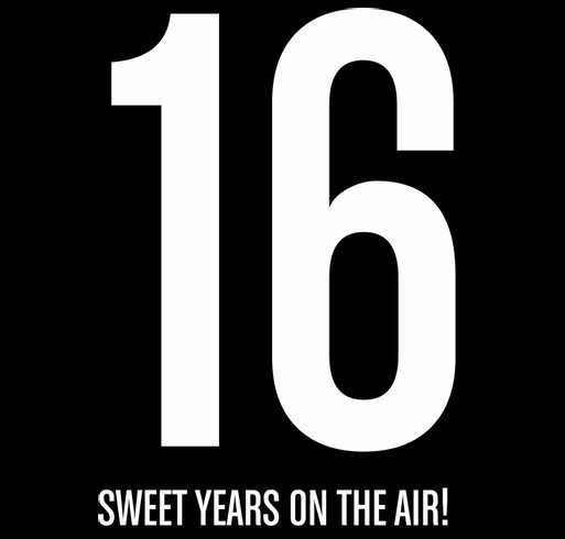 ATMI: 16 Sweet Years on the Air! shirt design - zoomed