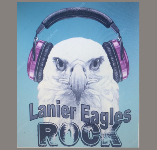 Lanier Spirit Shirt 2019-2020 shirt design - zoomed