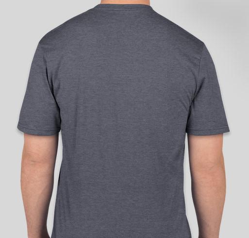 2021 Dip For Dozer Fundraiser - unisex shirt design - back