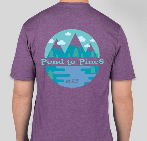 KEEN Summer Camp T-Shirts! Fundraiser - unisex shirt design - back