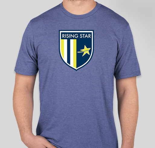 Rising Star Football Academy Fundraiser - unisex shirt design - front