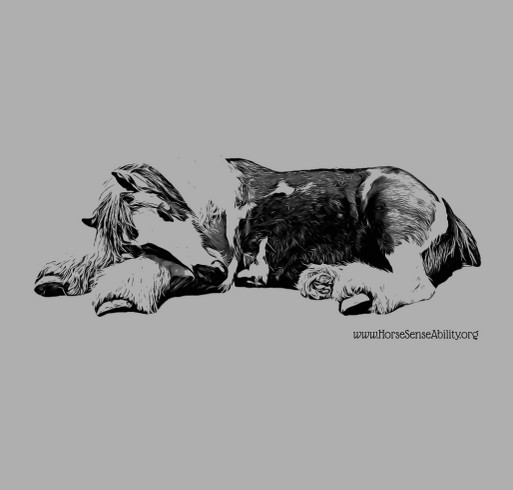 Ruby at Rest shirt design - zoomed