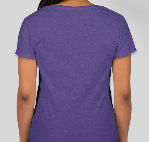Fiber Fusion Northwest 2019 Fundraiser Fundraiser - unisex shirt design - back