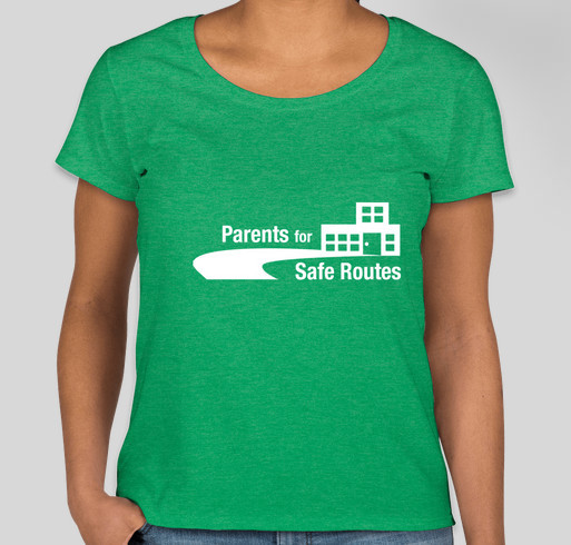 Parents for Safe Routes T-Shirts! Fundraiser - unisex shirt design - front