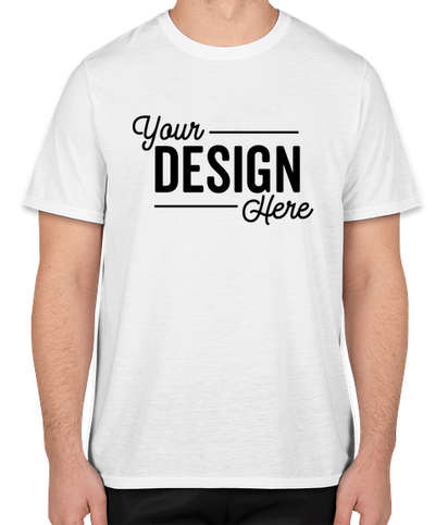Gildan Soft Jersey Performance Shirt - White
