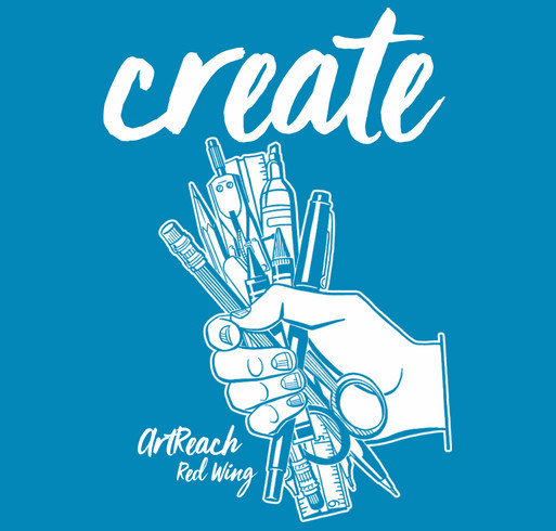 Create Opportunities shirt design - zoomed