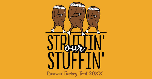 strutting our stuffing