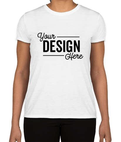 Gildan Women's Soft Jersey Performance Shirt - White
