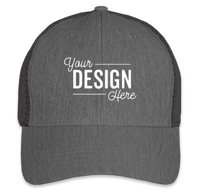 Big Accessories Urban Trucker Hat - Black / Black