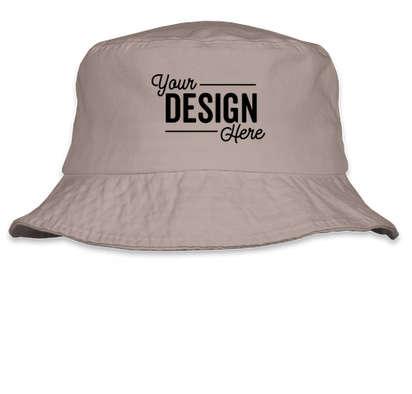 Sportsman Bio-Washed Bucket Hat - Grey