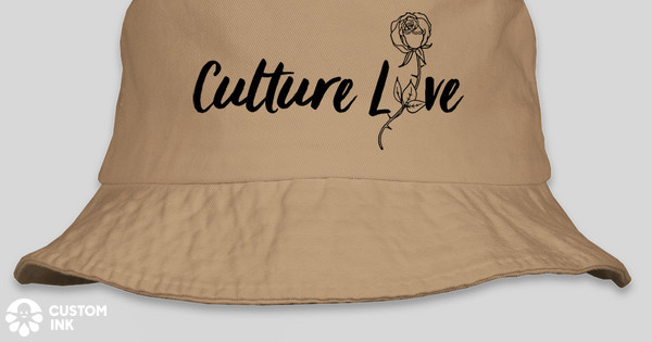 a509ef9ac8a98 Culture Love Bucket Hats Custom Ink Fundraising