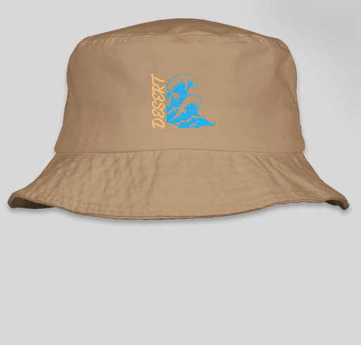 Desert Waves Bucket Hat Fundraiser - unisex shirt design - front 08c1803381a