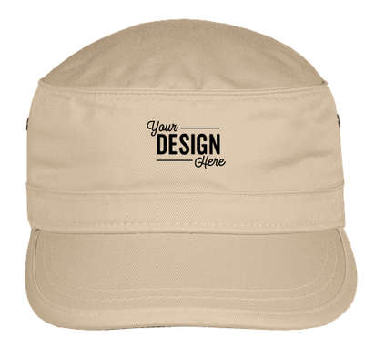 Econscious Organic Twill Military Hat - Oyster