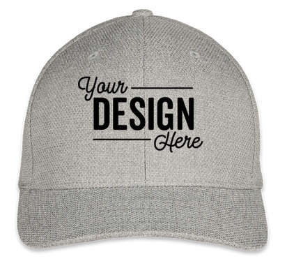 Flexfit Melange Urban Hat - Light Heather Grey