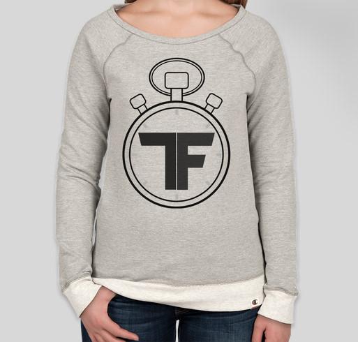 Help Support Tempus Fugit, Get A Super-Dope Sweatshirt! Fundraiser - unisex shirt design - front