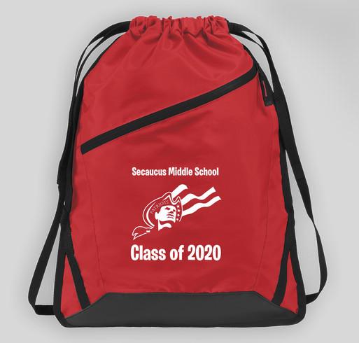 Fundraiser - Class of 2020 Drawstring Bags Fundraiser - unisex shirt design - front