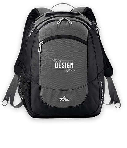 """High Sierra® Fly-By 17"""" Computer Backpack - Grey"""