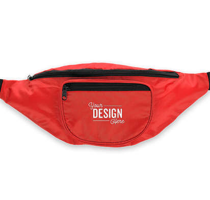 Hipster Deluxe Fanny Pack - Red