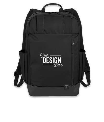 "Tranzip 15"" Computer Backpack - Black"
