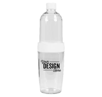 32 oz. Convertible Flip Cup & Water Bottle - White