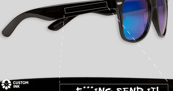 bc8d375ee27 FULL SENDERS FULL SEND SUNGLASSES!!!! Custom Ink Fundraising
