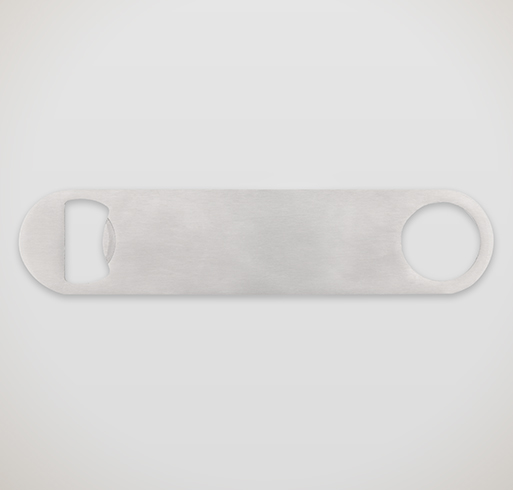 Paddle Metal Bottle Opener - Selected Color