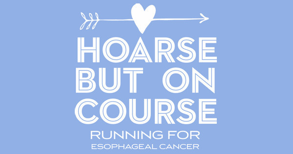 hoarse but on course