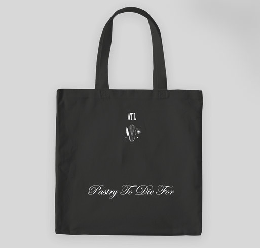 La Petite Mort Pâtisserie --- buy this awesome tote, help me start my business!! Fundraiser - unisex shirt design - back