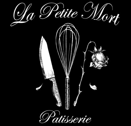 La Petite Mort Pâtisserie --- buy this awesome tote, help me start my business!! shirt design - zoomed