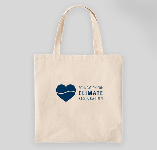 Give with Purpose to the Foundation for Climate Restoration Fundraiser - unisex shirt design - back