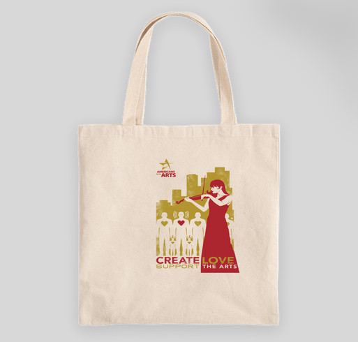 Create Love Totes Fundraiser - unisex shirt design - front
