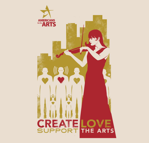 Create Love Totes shirt design - zoomed