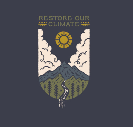 Give with Purpose to the Foundation for Climate Restoration shirt design - zoomed