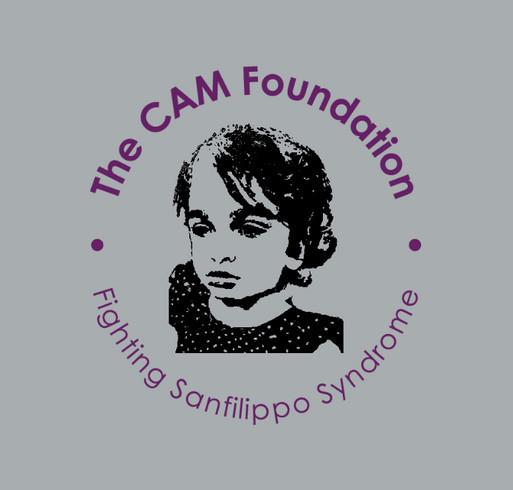 The CAM Foundation (World Sanfilippo Awareness Day-2020) shirt design - zoomed