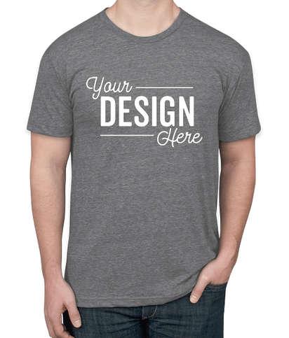 American Apparel Tri-Blend Track T-shirt - Athletic Grey