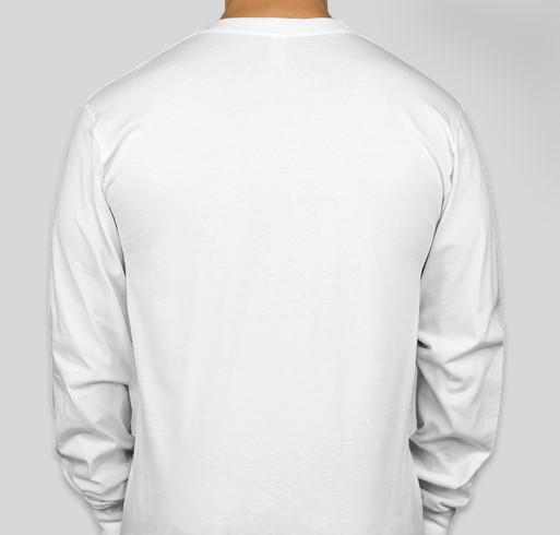 Footprints for Fatima 2020--John Carroll University Fundraiser - unisex shirt design - back