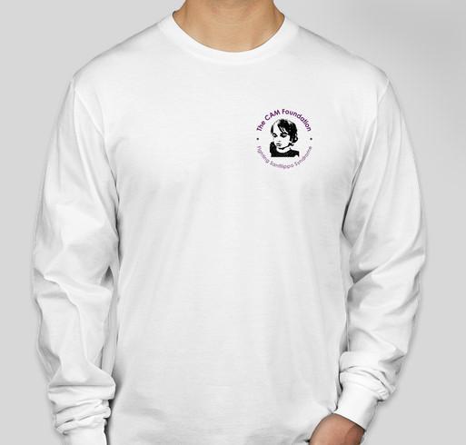 The CAM Foundation (World Sanfilippo Awareness Day-2020) Fundraiser - unisex shirt design - front
