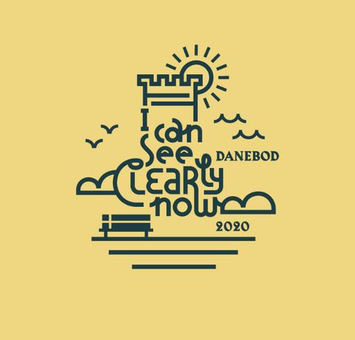 Danebod Folk School shirt design - zoomed